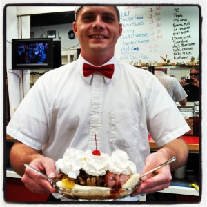 Davey & Our Sundae