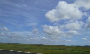 St. Simon clouds