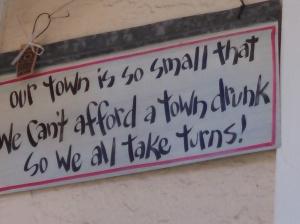 town drunk