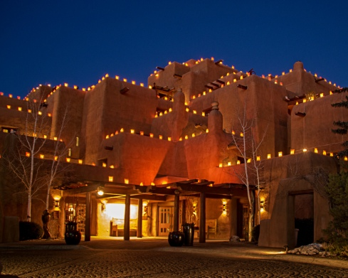 inn-and-spa-at-loretto-luminarias