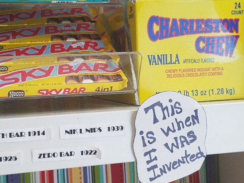 Old school candy